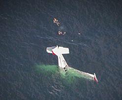 Samolot runął do wody. Katastrofa na oceanie