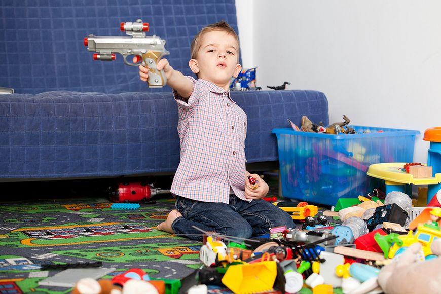 Zamiłowanie do pistoletów