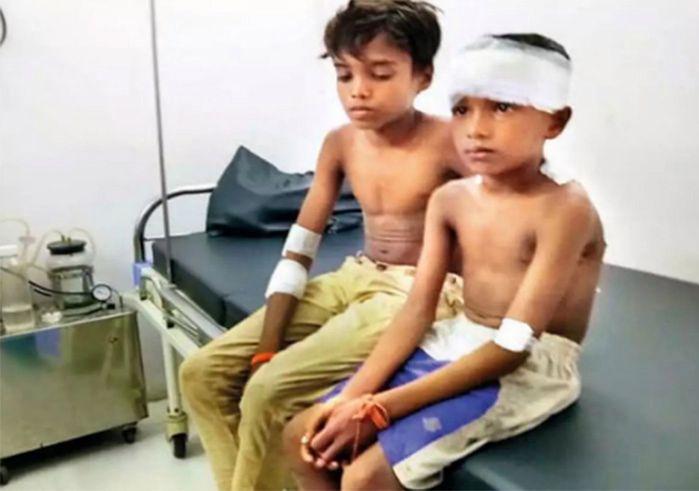 14-latek uratował 7-letniego kuzyna z pazurów lamparta