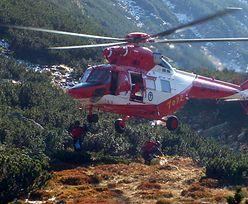 Akcja ratunkowa w Tatrach. Burza zastała turystów w górach