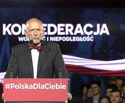 Wybory parlamentarne 2019. Janusz Korwin-Mikke: Kobieta ma prawo do bogatego męża