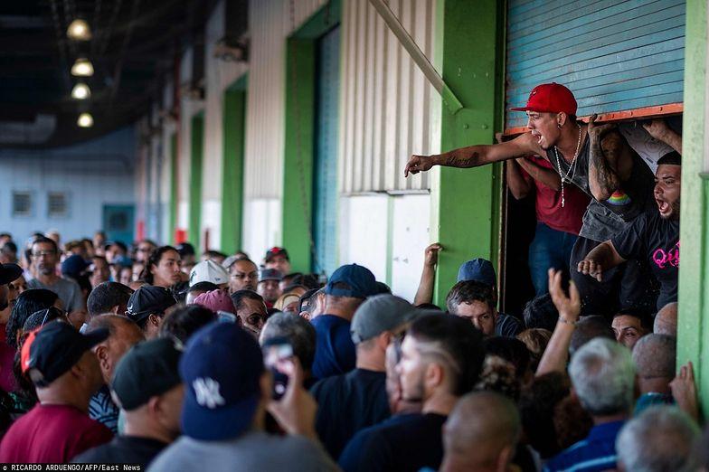 Zapomniany magazyn wywołał wściekłość ofiar trzęsienia ziemi w Portoryko