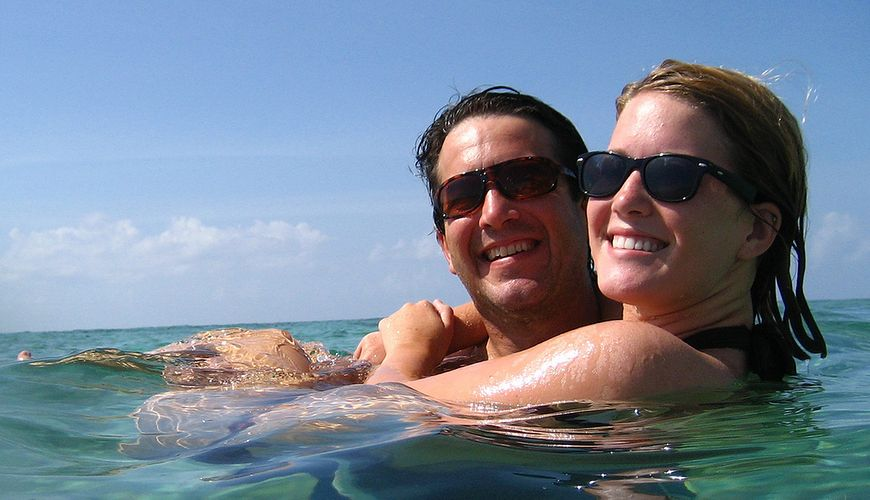 Bezpieczna kąpiel w morzu - znajomość dna