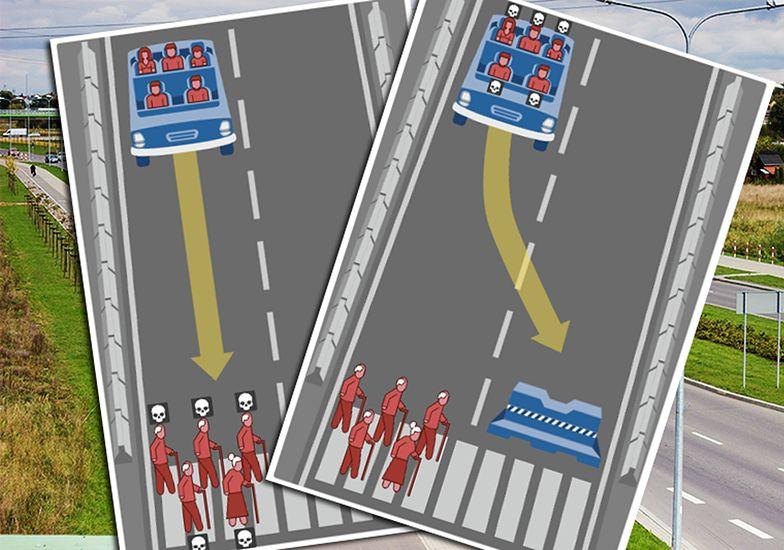 Kontrowersyjna gra. Kogo zabijesz na drodze?