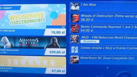 Aktualizacja polskiego PlayStation Store - Wiosna rozkwita wyprzedażami