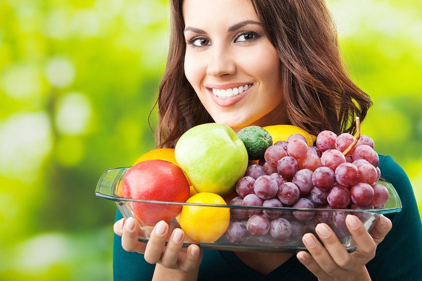 Warzywa i owoce w diecie