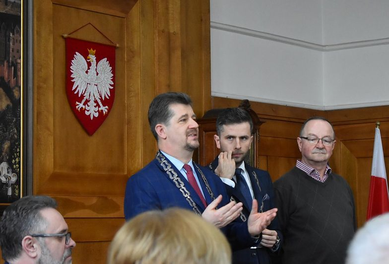 Marek Charzewski, burmistrz Malborka