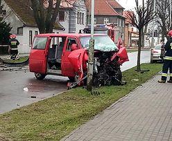 Wypadek w Lęborku. Pięciu nastolatków w szpitalu