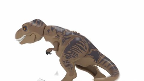 W LEGO Jurassic World pogramy też dinozaurami