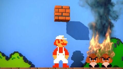 Krótka piłka: jeśli odmładzać Super Mario Bros., to właśnie tak