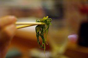 Potrawy z wodorostów