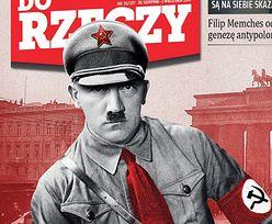 """""""Hitler był lewakiem"""". Okładka prawicowego tygodnika oburzyła internautów"""