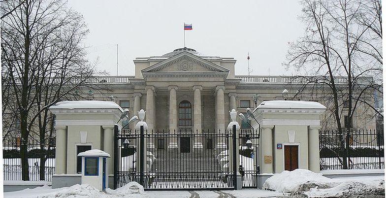 Rosyjska ambasada w Warszawie