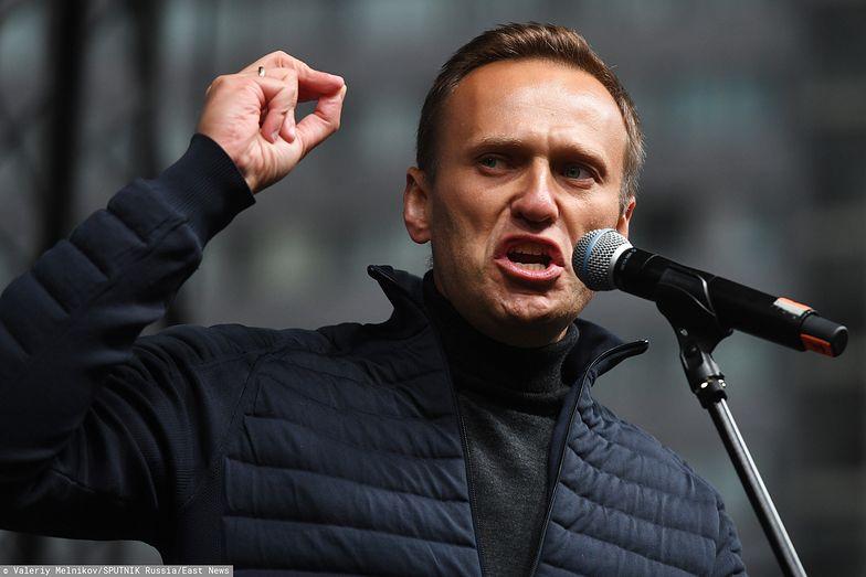 Rosja. Aleksiej Nawalny zatrzymany przez policję w Moskwie