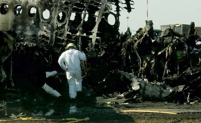Katastrofa samolotu na lotnisku Moskwa-Szeremetiewo. Relacja stewardessy