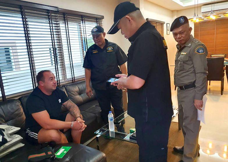 31-letni Mark Rumble został zatrzymany w Tajlandii