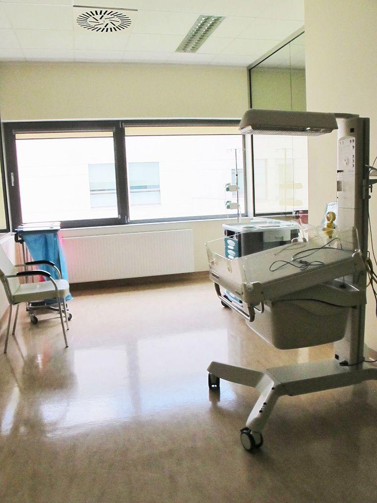 Miejsce do wykonywania badań noworodków