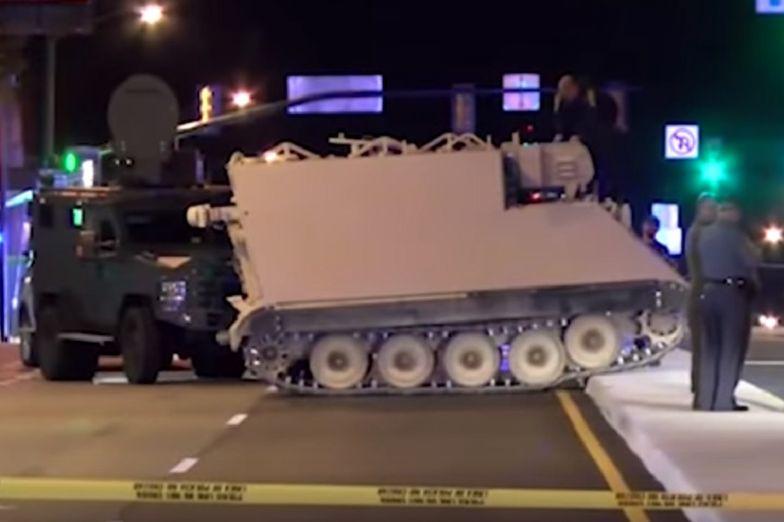 Ukradł wojskowy pojazd opancerzony. Wielka pogoń w stolicy Wirginii