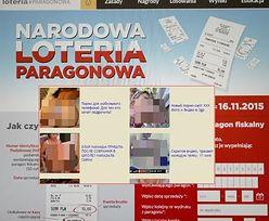 Atak na rządową stronę Loterii Paragonowej. Wyświetla się porno