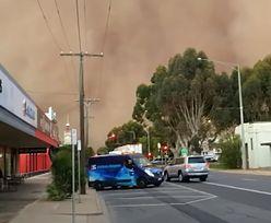 """Burza piaskowa pochłonęła miasto Mildura. """"To było jak apokalipsa"""""""