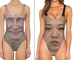 Kostiumy kąpielowe z twarzami przywódców państw. Wiemy, ile kosztują!