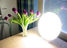 Lampa używana w fototerapii