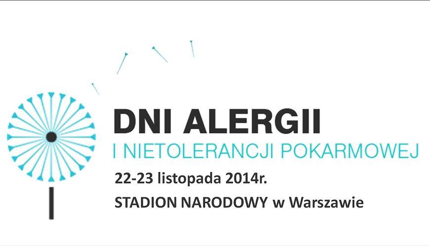 Już 22-23 listopada 2014 roku Dni Alergii i Nietolerancji Pokarmowej