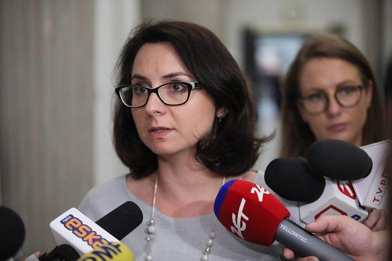 Od działaczy Nowoczesnej w Płocku dostało się przede wszystkim Kamili Gasiuk-Pihowicz
