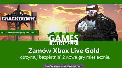 W sierpniu abonenci Xbox Live Gold pograją za darmo w Crackdown