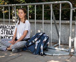 13-latka protestuje przed Sejmem. Wsparła ją nominowana do Pokojowej Nagrody Nobla
