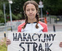 """Szczecin. Poseł PiS drwi z """"panien strajkujących klimatycznie"""". Bo zmarzł"""