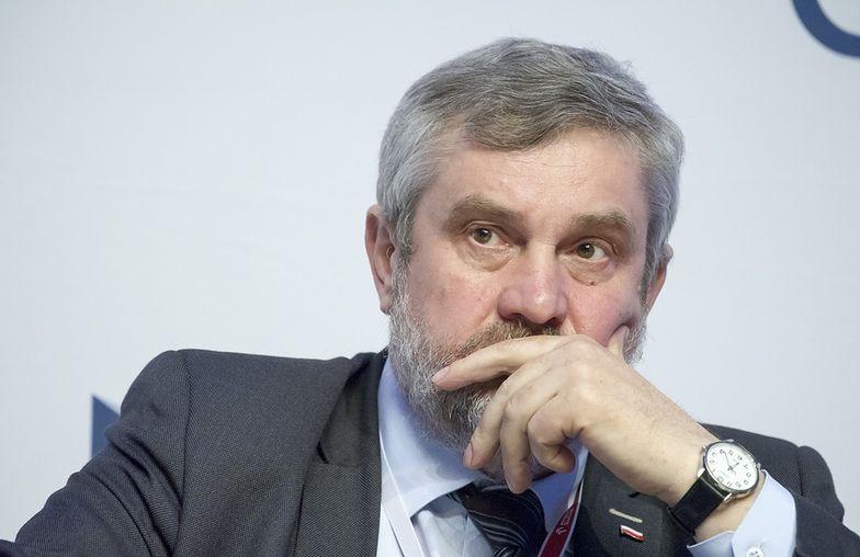 Minister rolnictwa Jan Krzysztof Ardanowsk