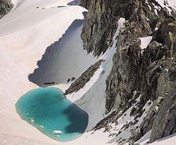 W Alpach pojawiło się jezioro. Jest kolejnym przejawem topnienia lodowców