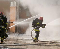 Pożar kamienicy w Łodzi. Są poszkodowani