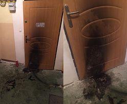 Ktoś próbował spalić jej dom. Na drzwiach znalazła obraźliwą wiadomość