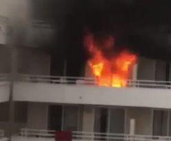 Głupi żart doprowadził do pożaru hotelu. Hiszpanie nie darują Brytyjczykom