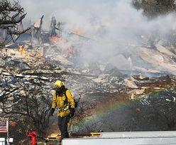 Wielki pożar w Kalifornii. Ogień dotarł do Los Angeles