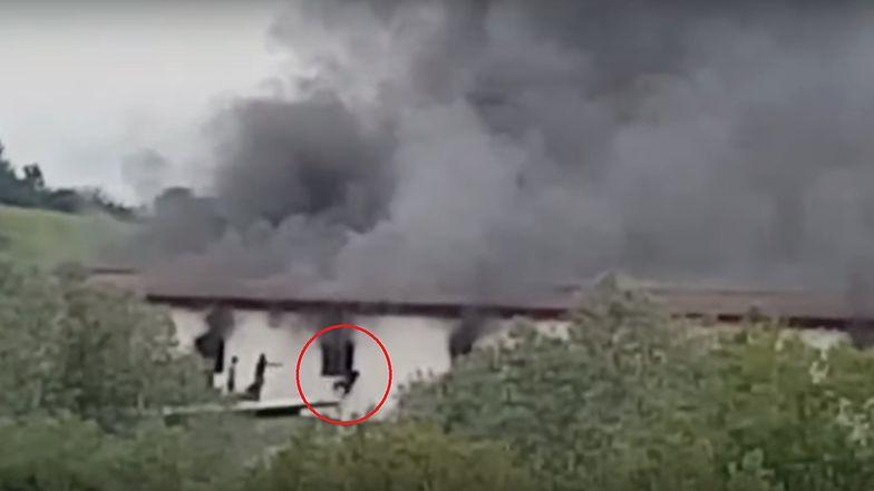 Pożar w ośrodku dla migrantów w Bośni