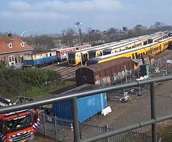 Eksplozja w pociągu pasażerskim w Holandii. Nie żyje 1 osoba