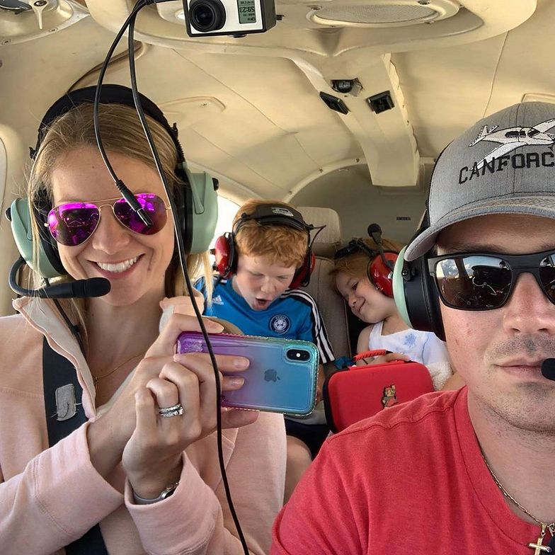 Awaryjne lądowanie samolotu. Pilot bohaterem