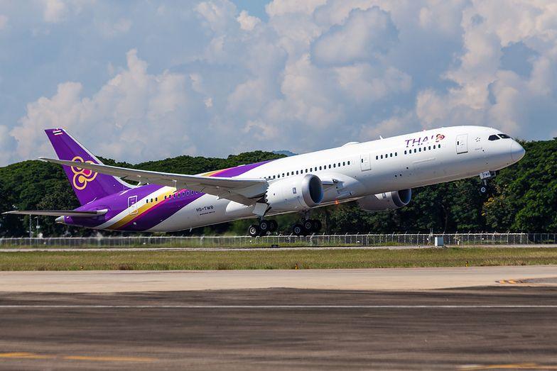 Boeing 787-9 Dreamliner w barwach linii Thai Airways