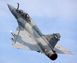 """Myśliwiec zniknął z radarów we Francji. Świadek słyszał """"wybuch"""""""