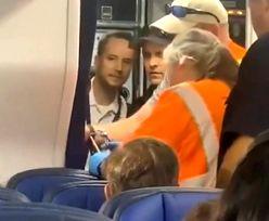 Pasażerka utknęła w toalecie. Samolot United Airlines lądował awaryjnie