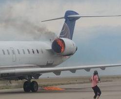 Szokujący widok. Płonący samolot United Airlines lądował na lotnisku w Denver