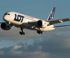 Dreamliner lecący z Warszawy do Nowego Jorku wylądował na Islandii
