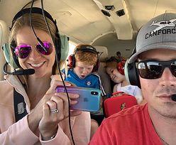 Samolot szczęśliwie wylądował. Pilot uratował żonę i dwójkę dzieci. Bohater nagrał wideo