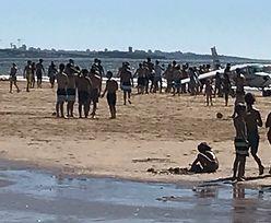 Awaryjne lądowanie samolotu na plaży. Dwie osoby nie żyją