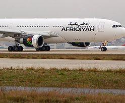 Porwano samolot z 118 osobami na pokładzie