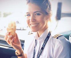 """Śliczna pani pilot uwodzi na Instagramie. """"Chcę inspirować innych"""""""