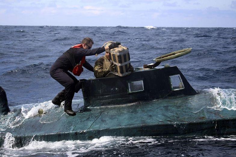 narkotyki kokaina łódź podwodna